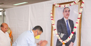 Rama Dental College Hospital paid homage to our Founder, Dr. B.S Kushwah sir.